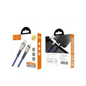 Cablu de date super fast type-c Hoco U48,negru